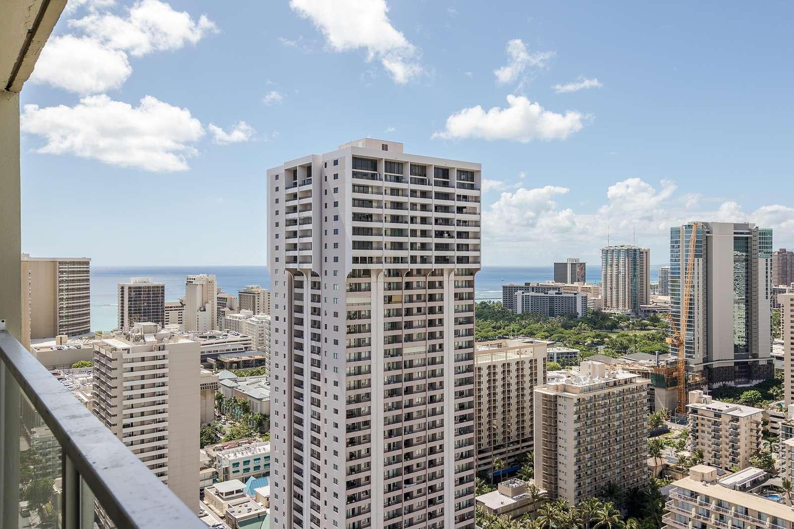 City of Waikiki From Lanai