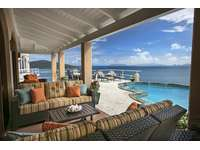 Sprawling deck space with brand new comfortable, cushioned furniture with priceless views!!  thumb