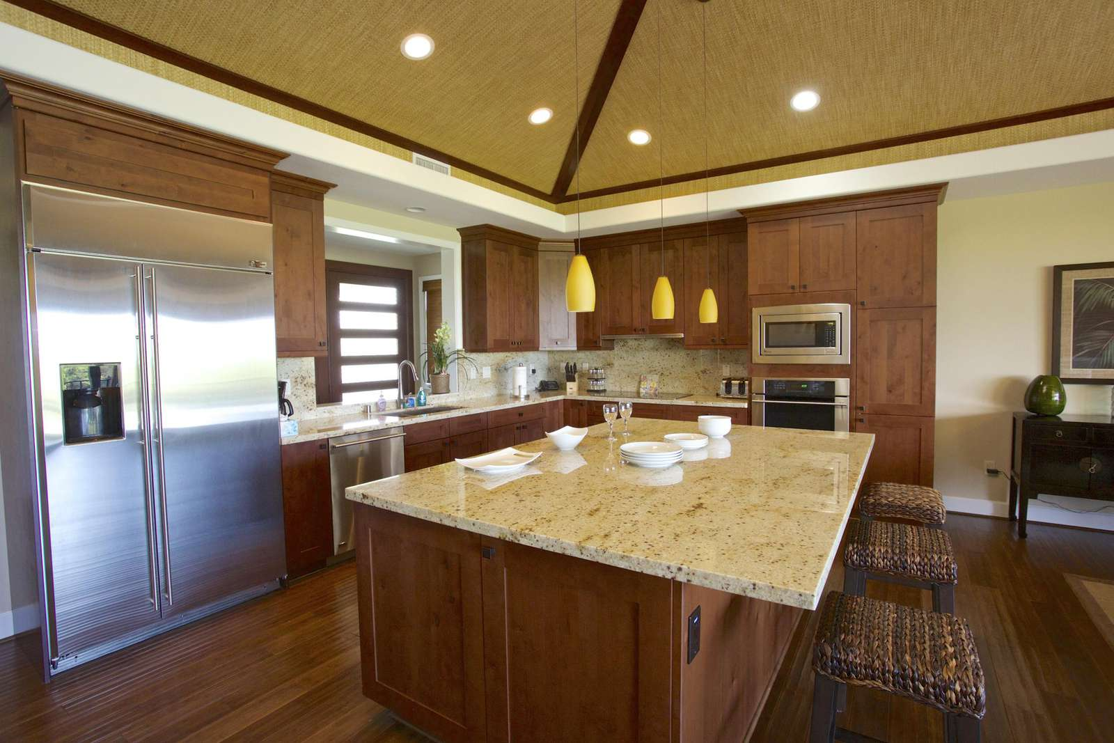 Gourmet kitchen complete with everything you need to cook your meals