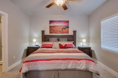 Bedroom 2 = King Bed