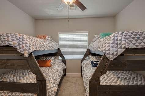 Bedroom 3, Bunk Room = 2 Full + 2 Twin