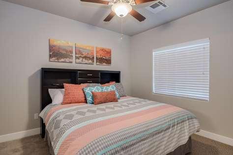 Bedroom 1 = King Bed