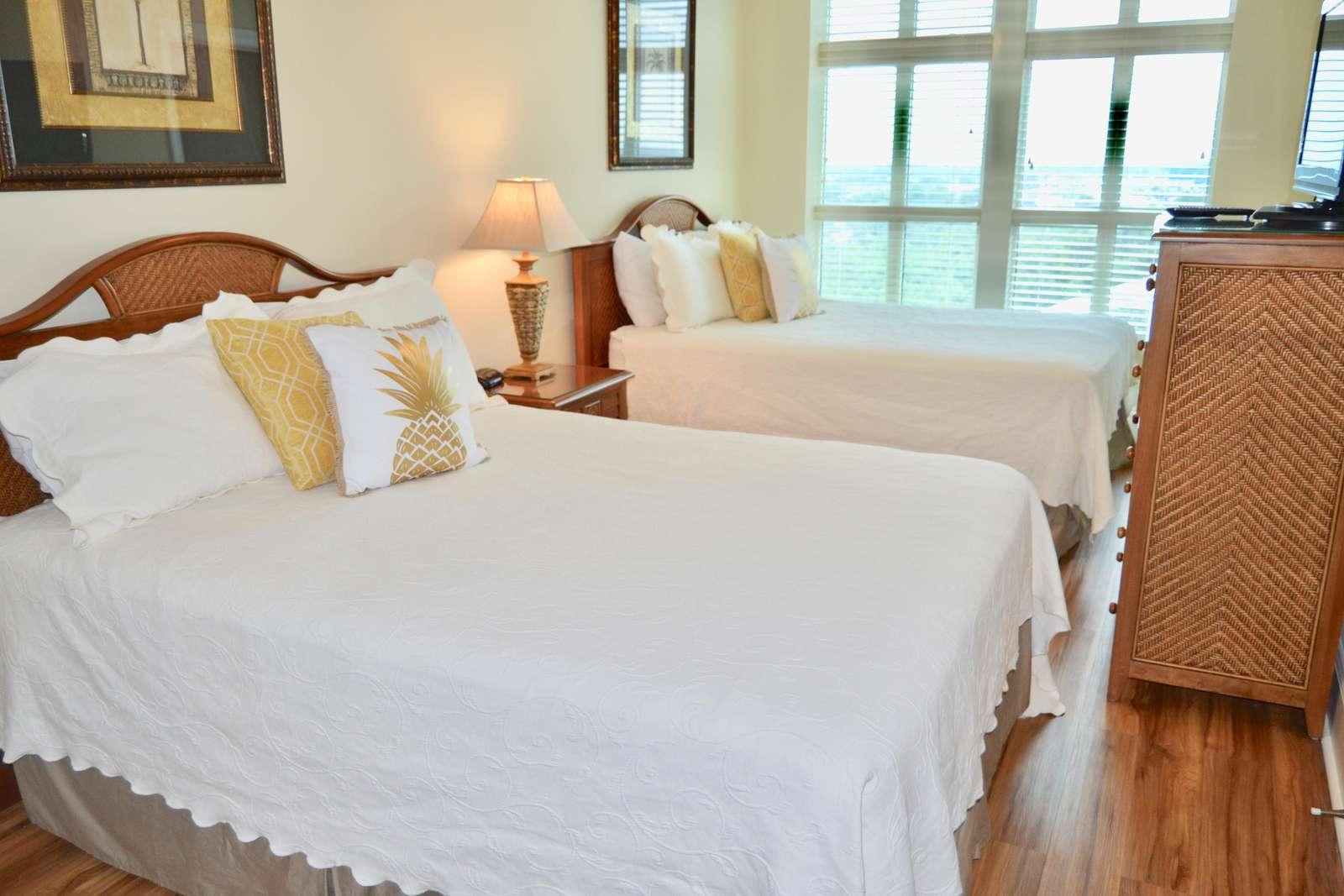 Guest bedroom 3, 2 Queens