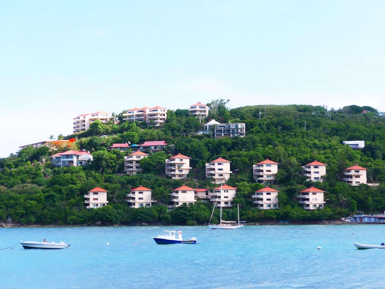 Point Pleasant from Across Water Bay