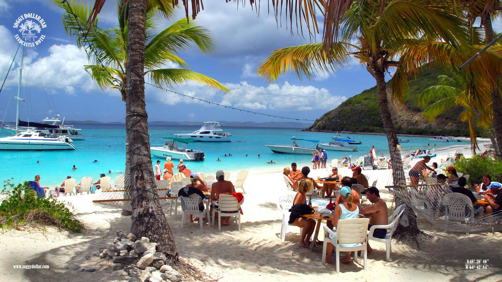 Soggy Dollar Bar on Jost Van Dyke