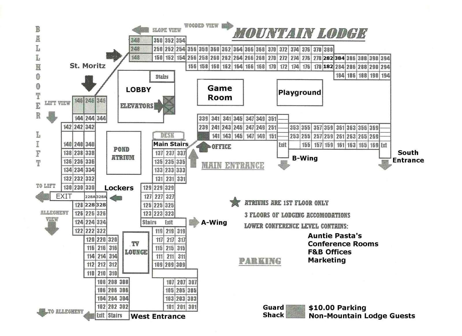 Floor plan of ML