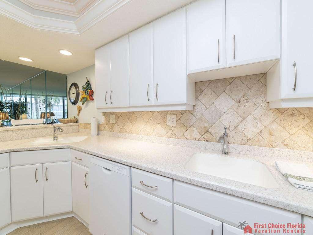 Anastasia Condo 303 Kitchen Sink Area