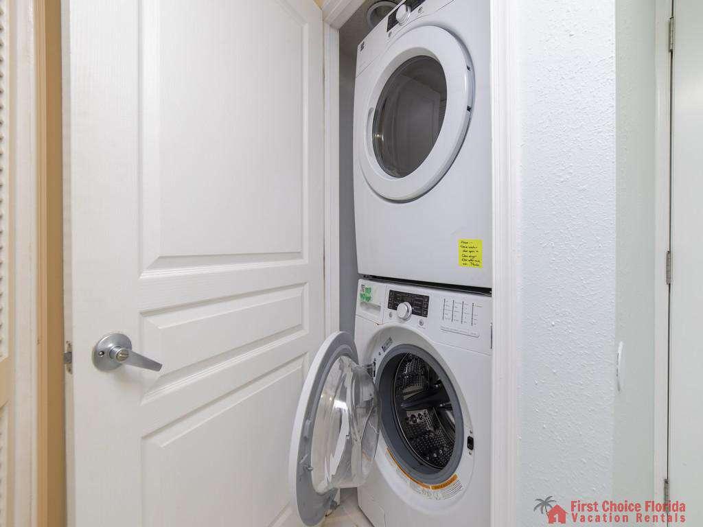 Anastasia Condo 303 Washer and Dryer