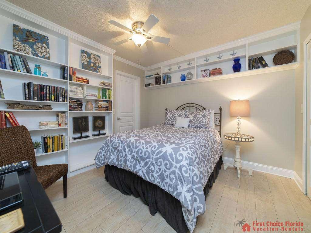 Anastasia Condo 303 Bed Under Shelves