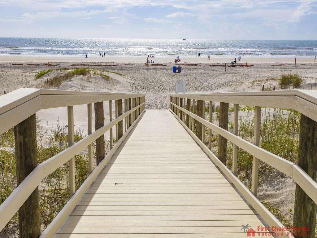 Anastasia Condo 303 End of Boardwalk at Beach