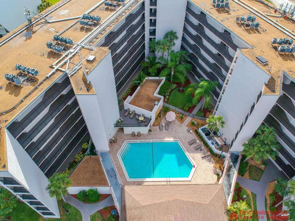 Anastasia Condo 303 Aerial Pool - property
