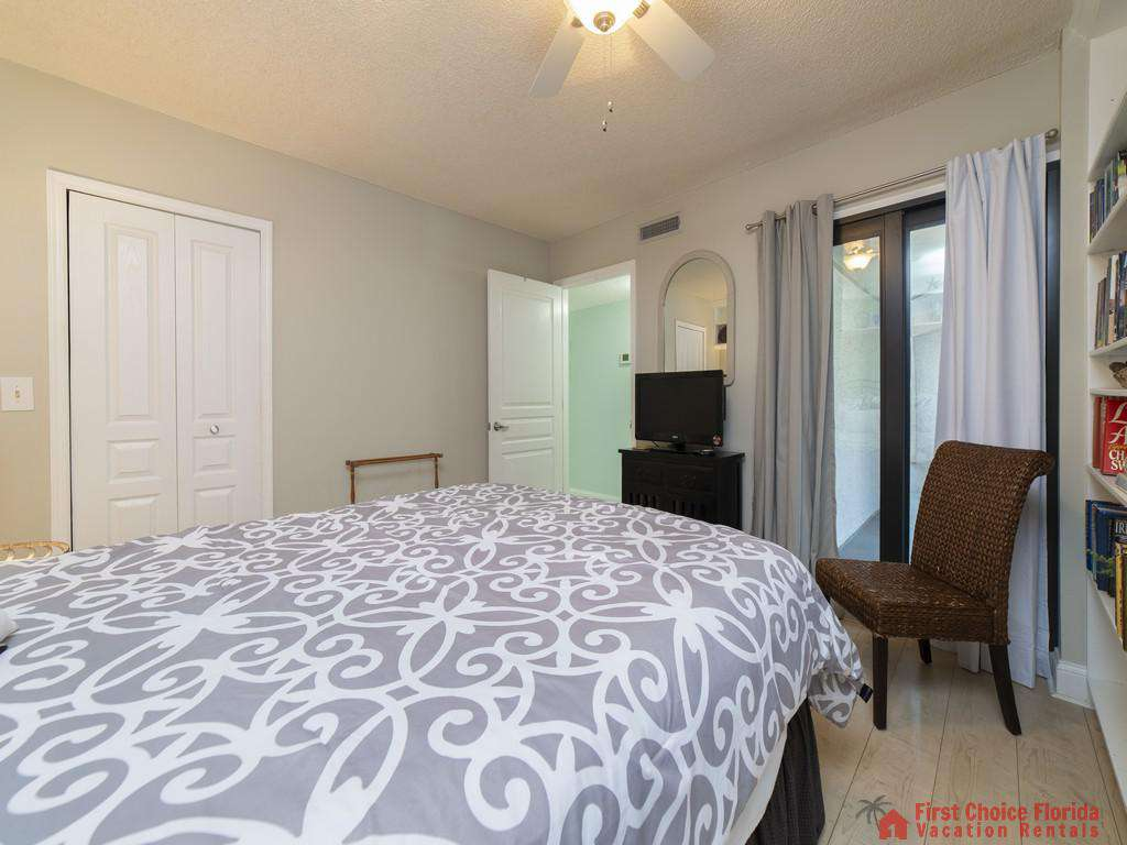 Anastasia Condo 303 Bed with TV and Chair