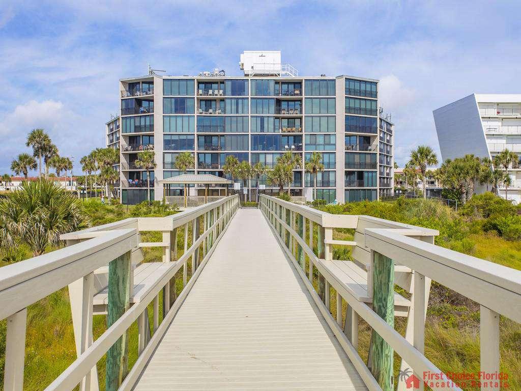 Anastasia Condo 303 Building from Boardwalk