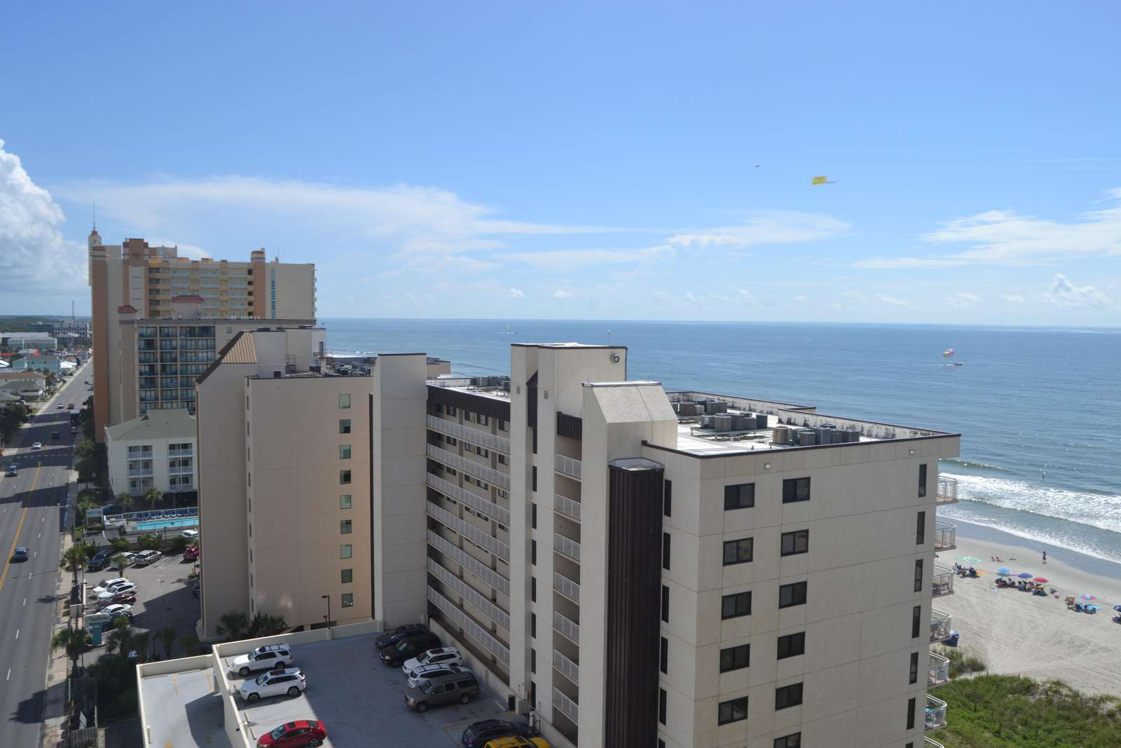 Largest balconies in the building, 4br end ocean view