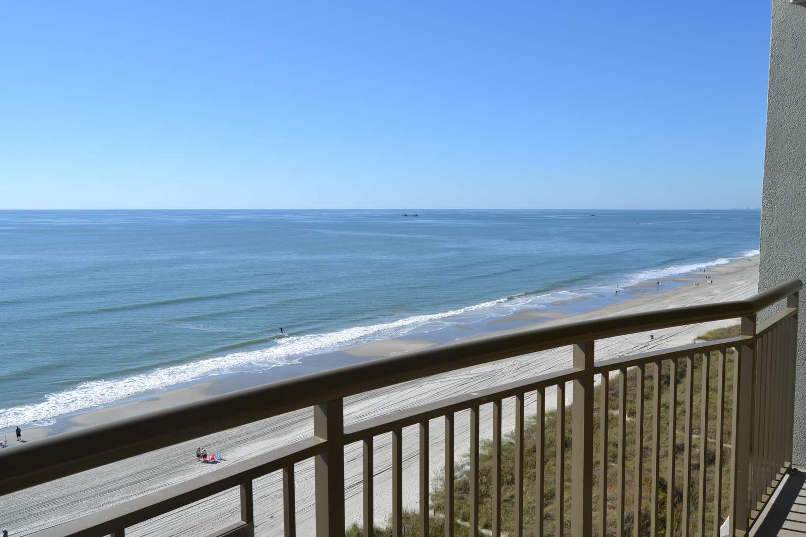 Oceanfront, southern coastal view