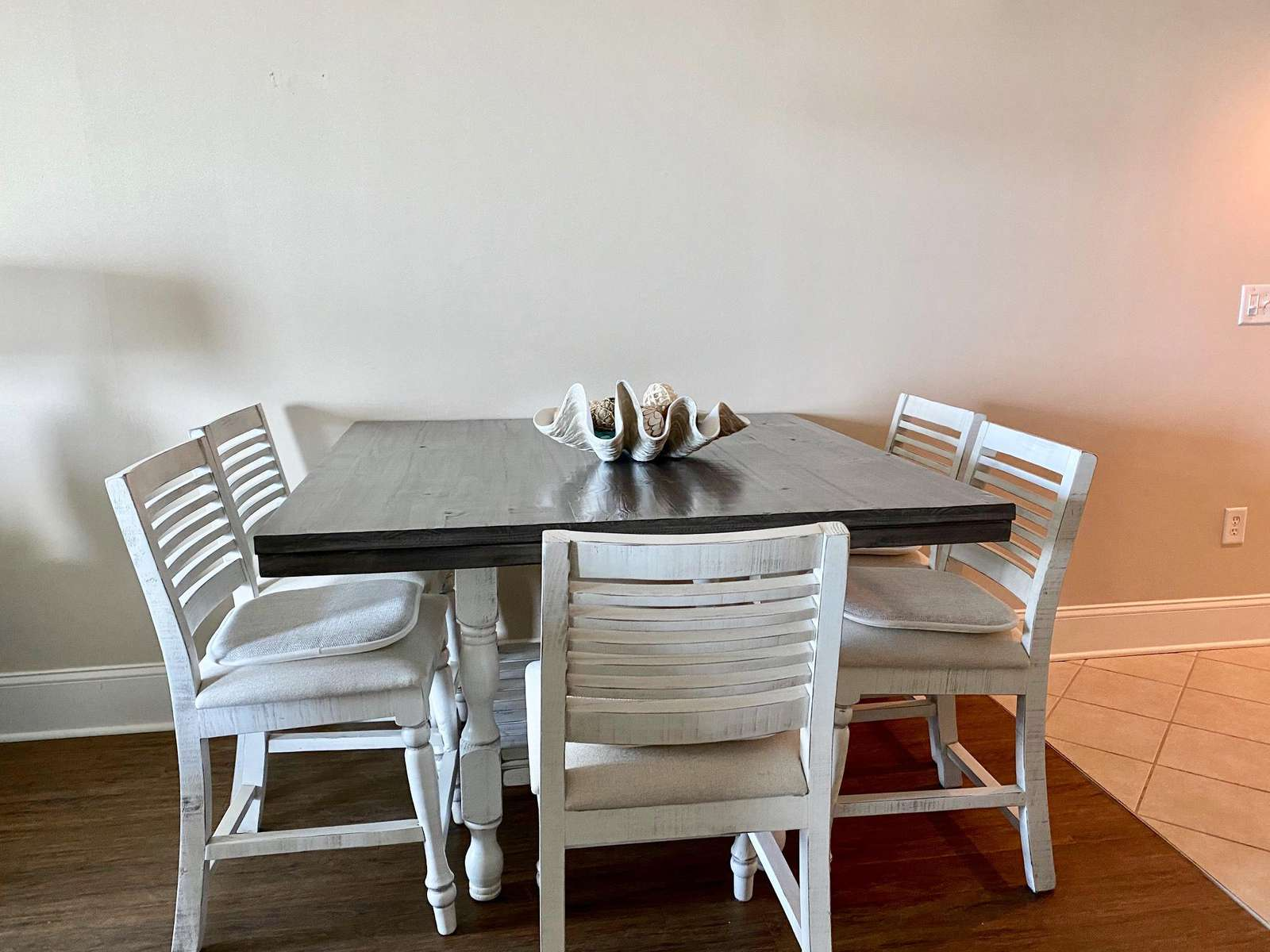 New dining furniture