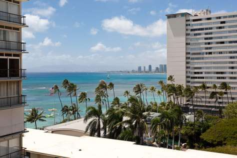 Diamond Head 802 Ocean View 1 Bedroom