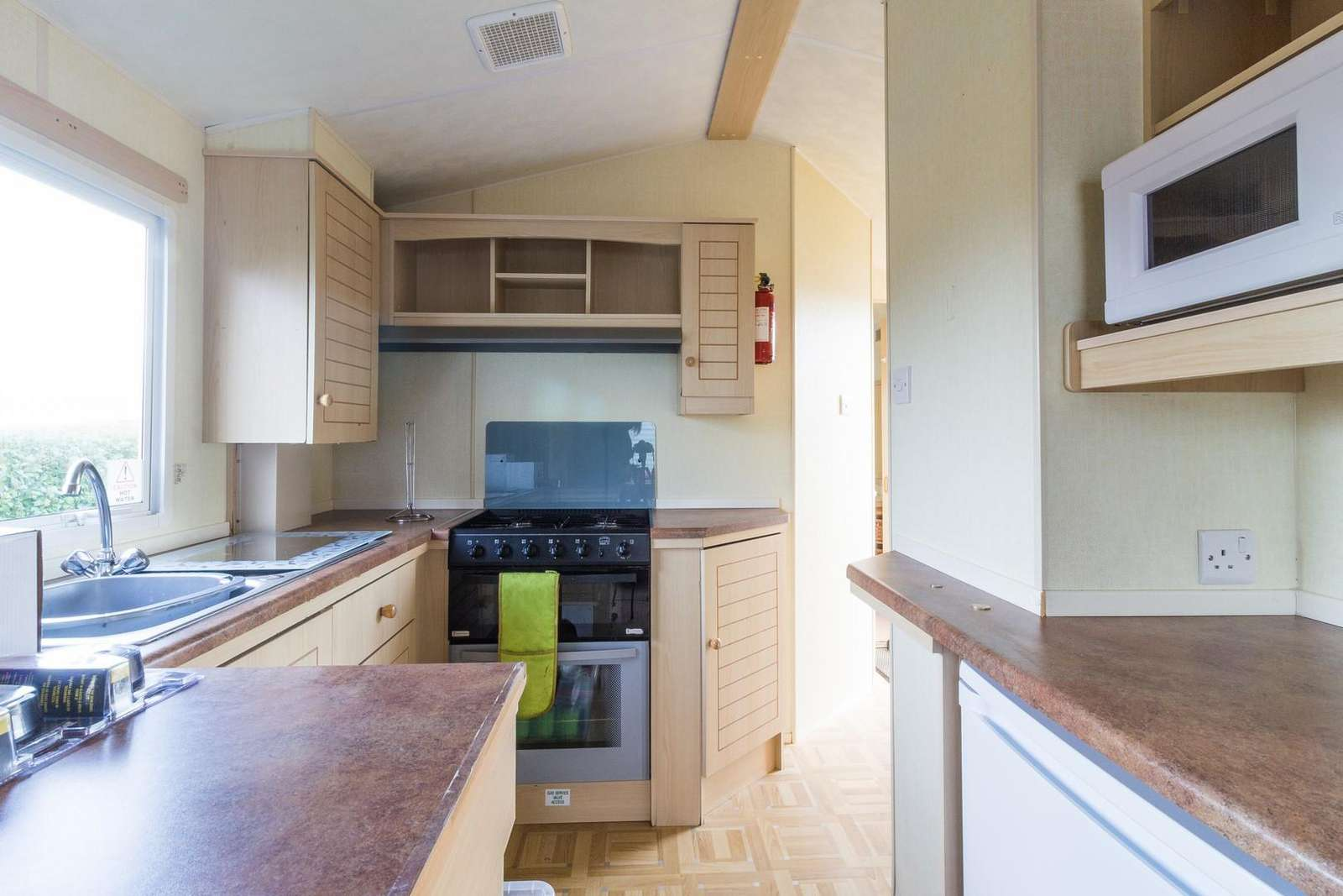 Static home for hire in Hunstanton, Norfolk