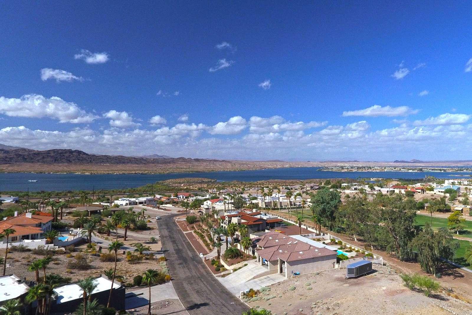 Drone pic of lake view