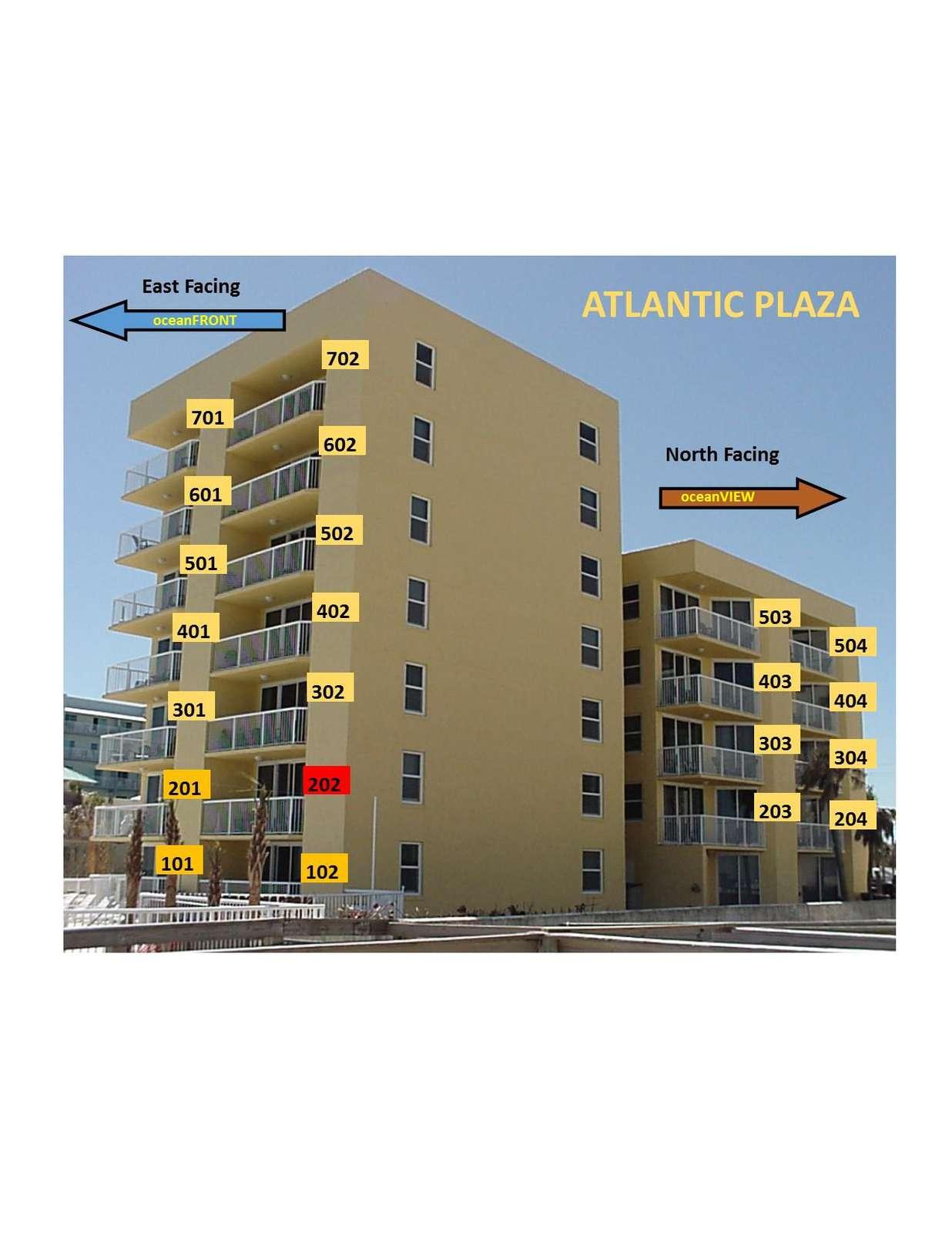 OceanFRONT unit 202 (2nd floor)