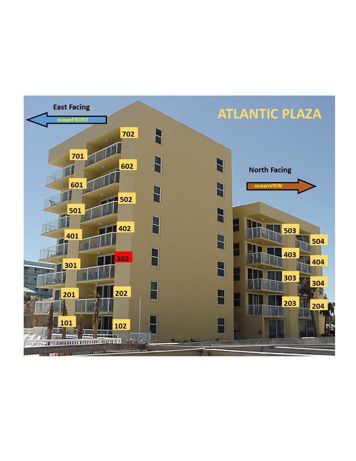 OceanFRONT unit 302 3rd floor