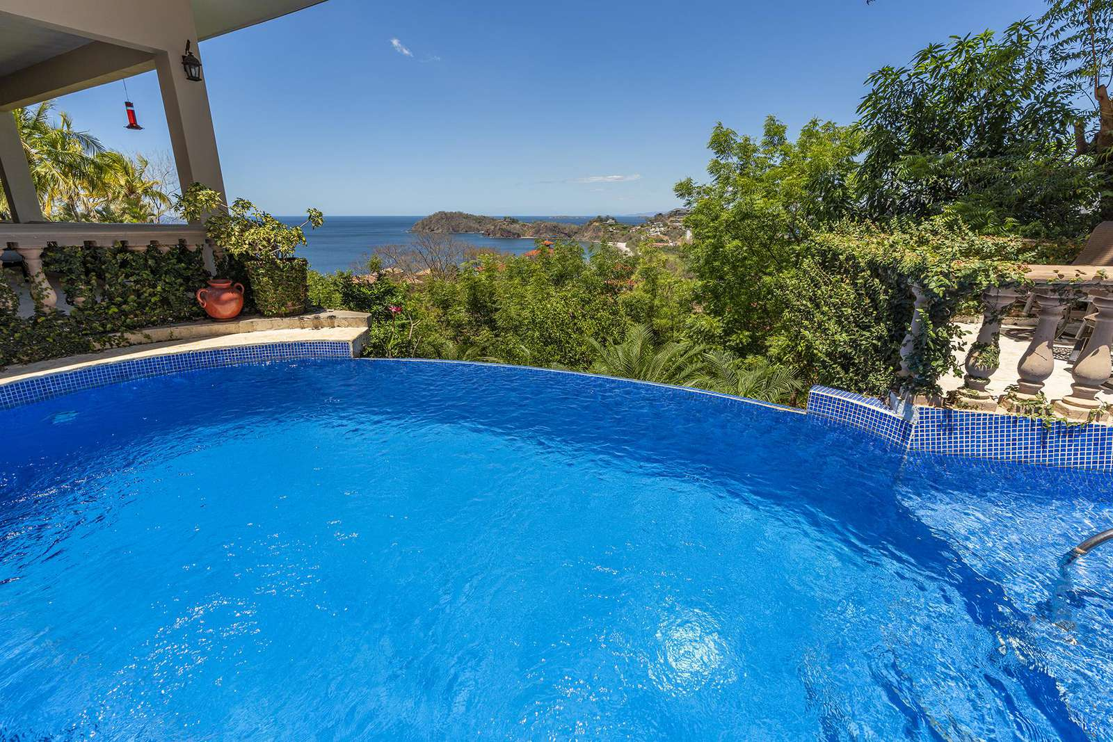Ocean views from your private infinity edge pool