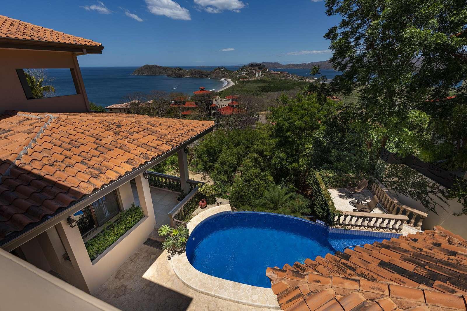 View of pool, amazing ocean views