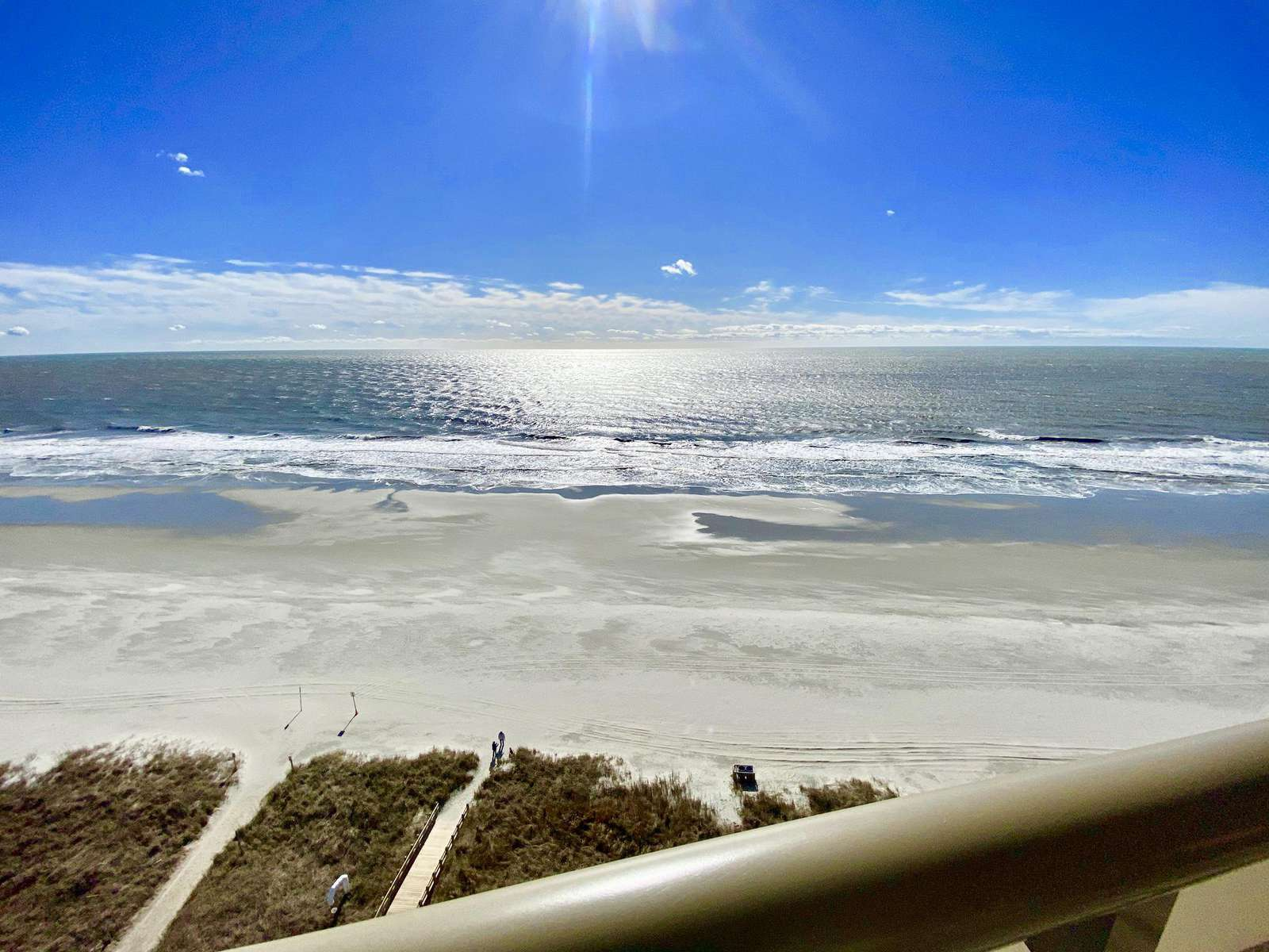 Oceanfront, penthouse views