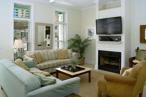 Comfortable Living Room for those Family Gatherings
