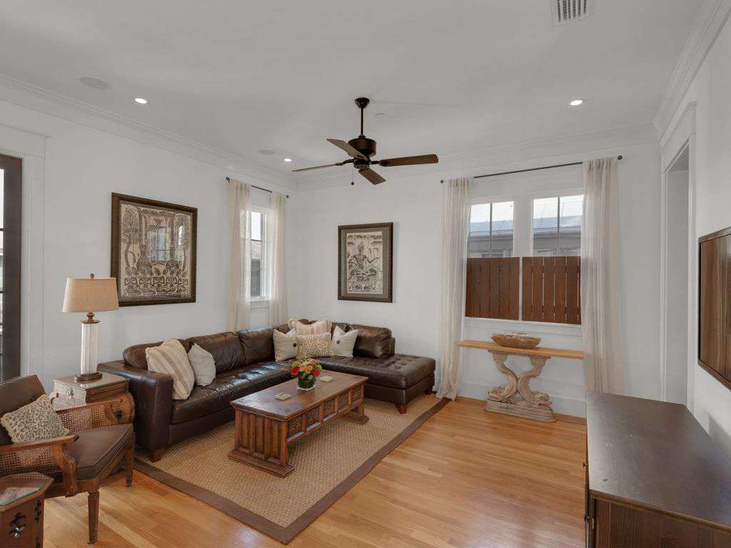 """Second seating area on second floor w/55"""" Smart TV"""