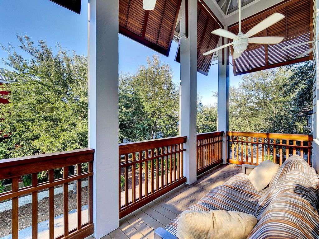 Outdoor Balcony off Master Bedroom