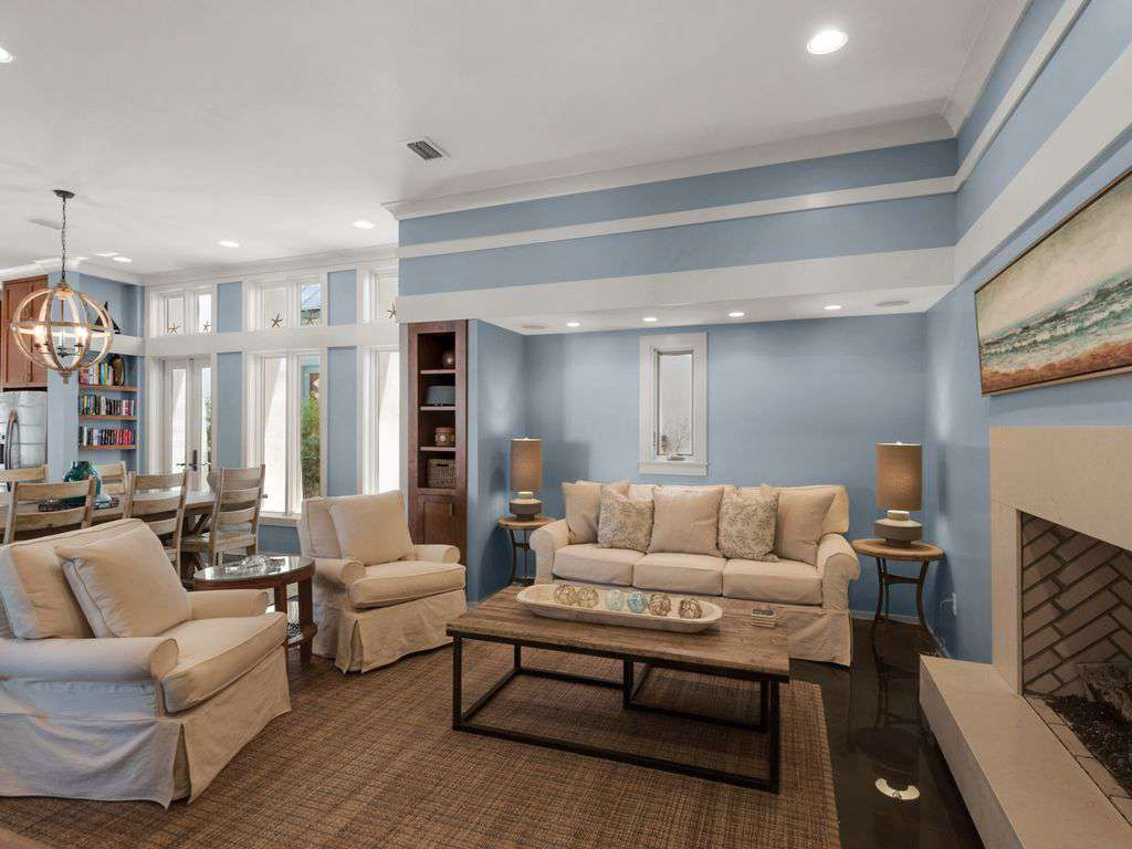 Totally Refurbished Family Room