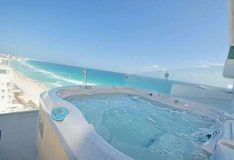 #3703 Outdoor Hot Tub with Ocean View