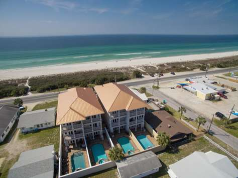 Private Beach - Unobstructed Views of the Sugary White Sand and Emerald Waters!