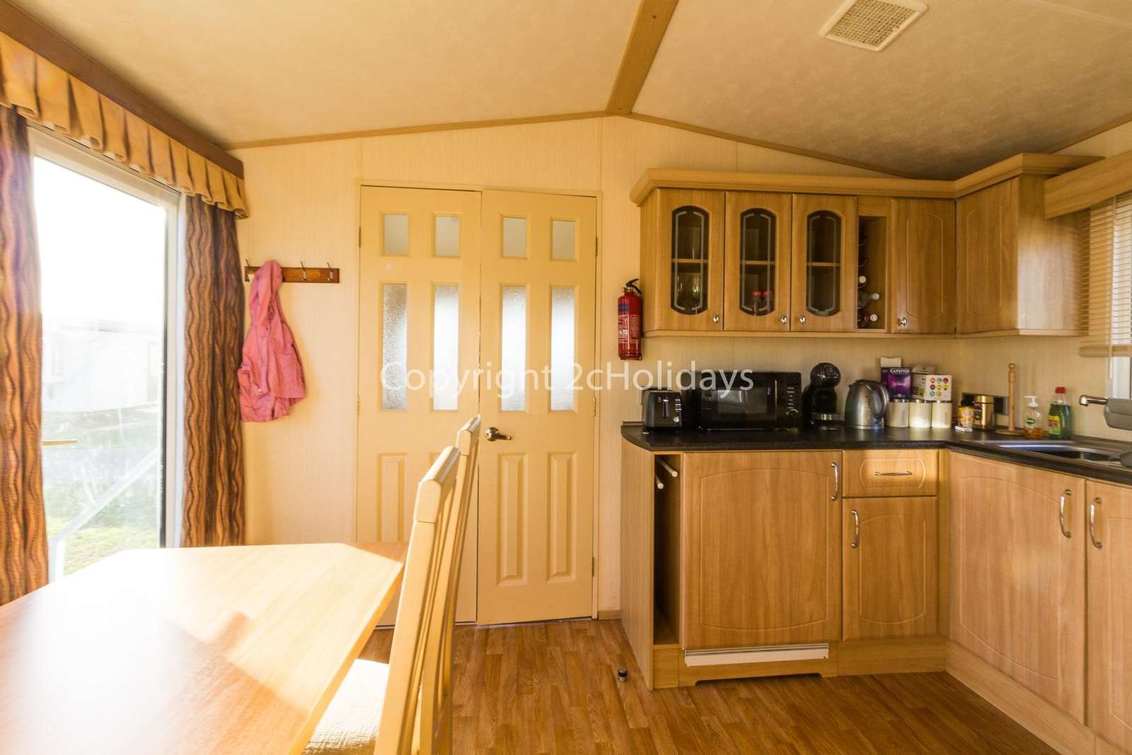 California Cliffs Holiday Park, in Scratby. Perfect for families.