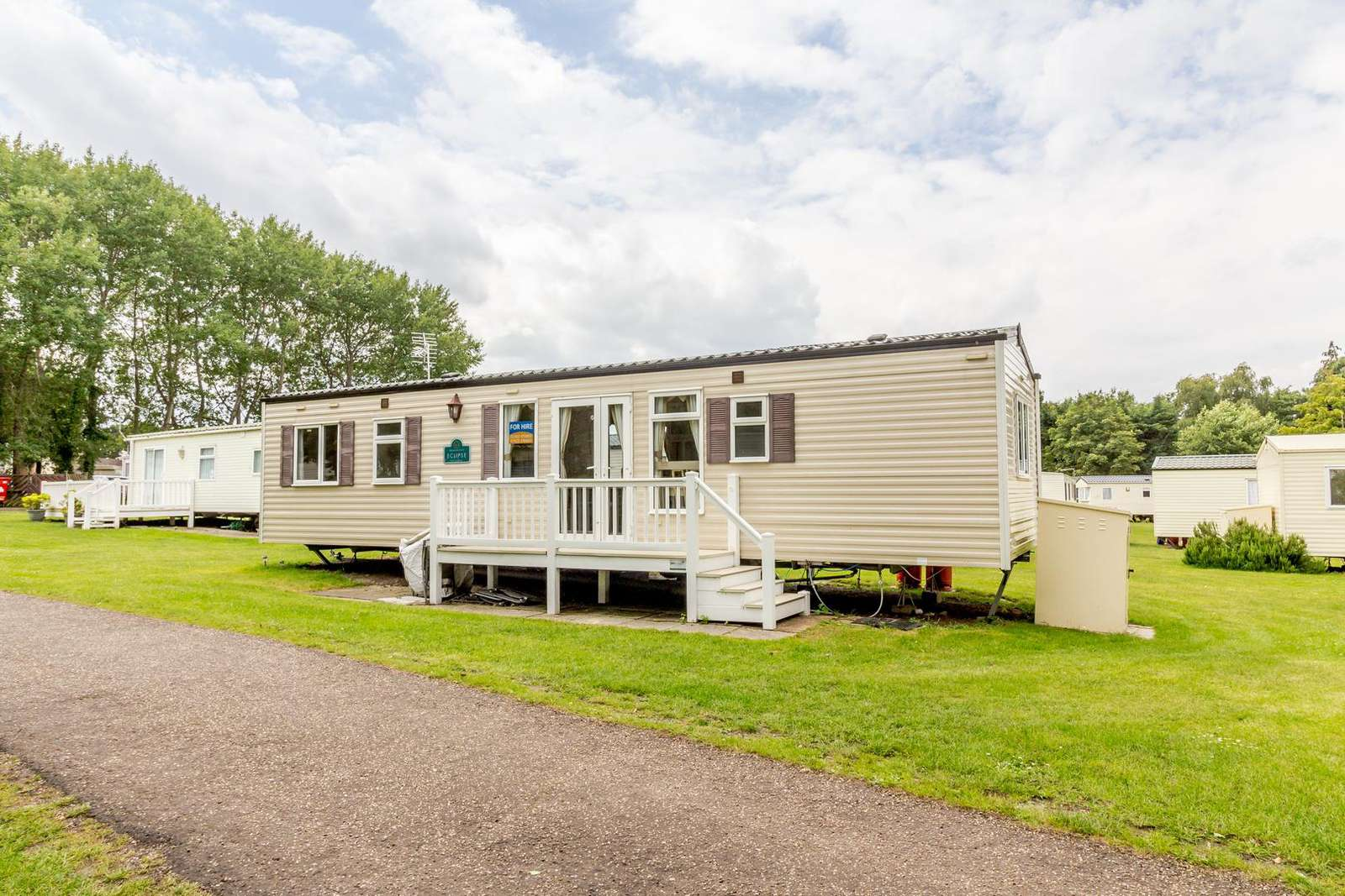 So many families have enjoyed a stay at this caravan!
