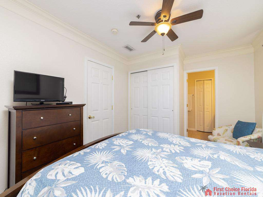 Hibiscus I201 Bed with TV
