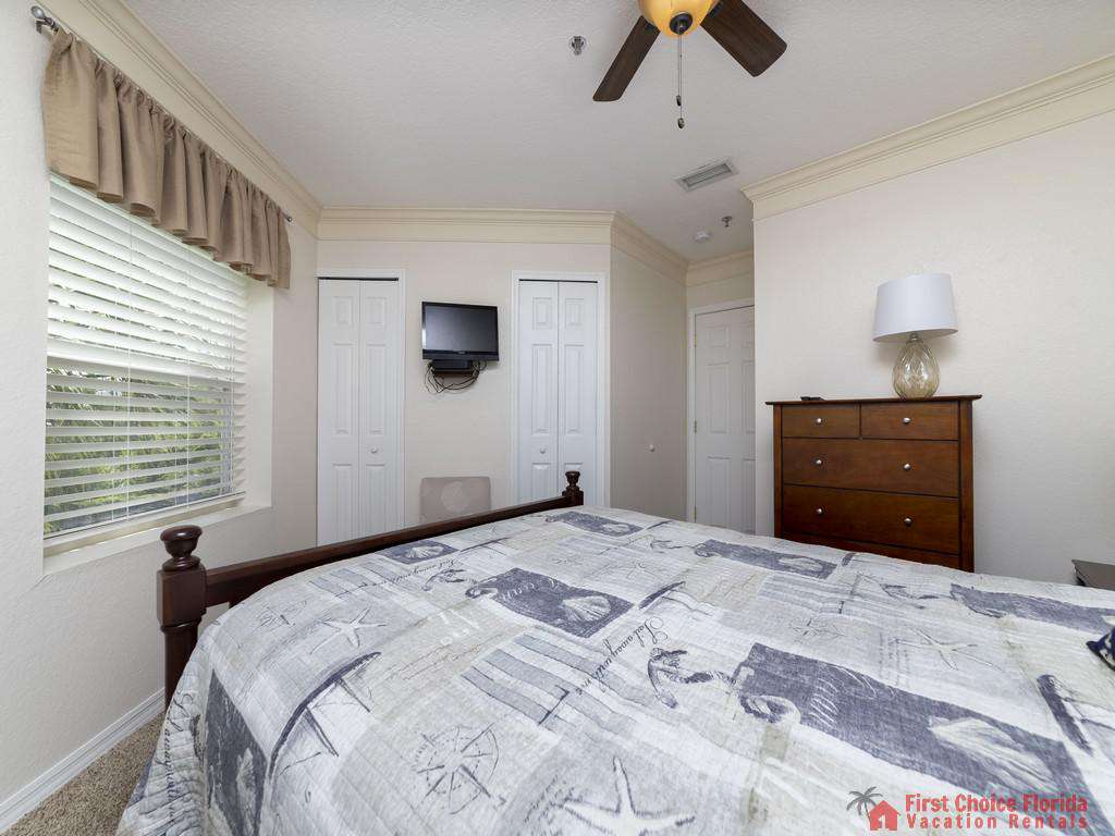Hibiscus I201 Master Bedroom with TV