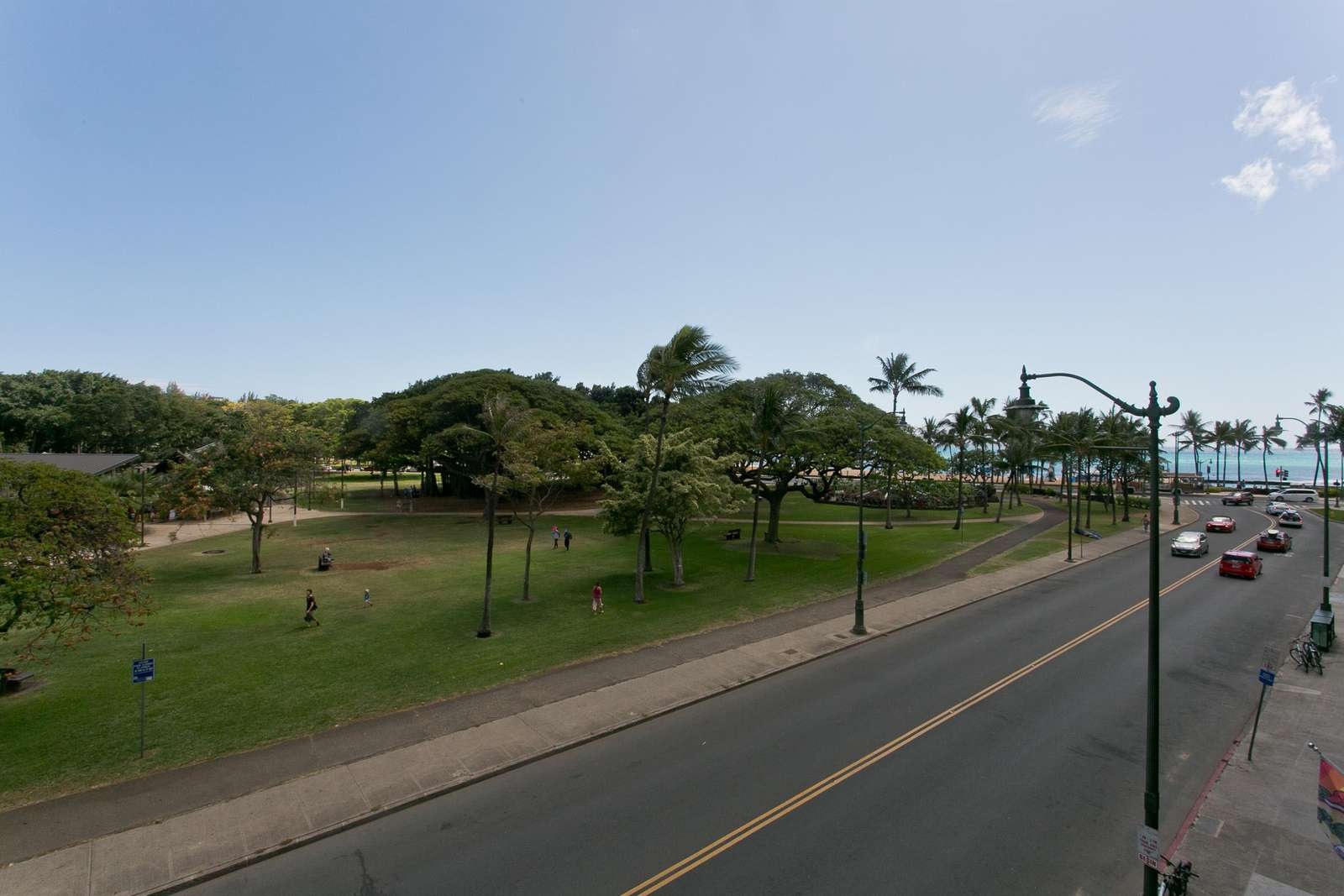 Park and Beach View