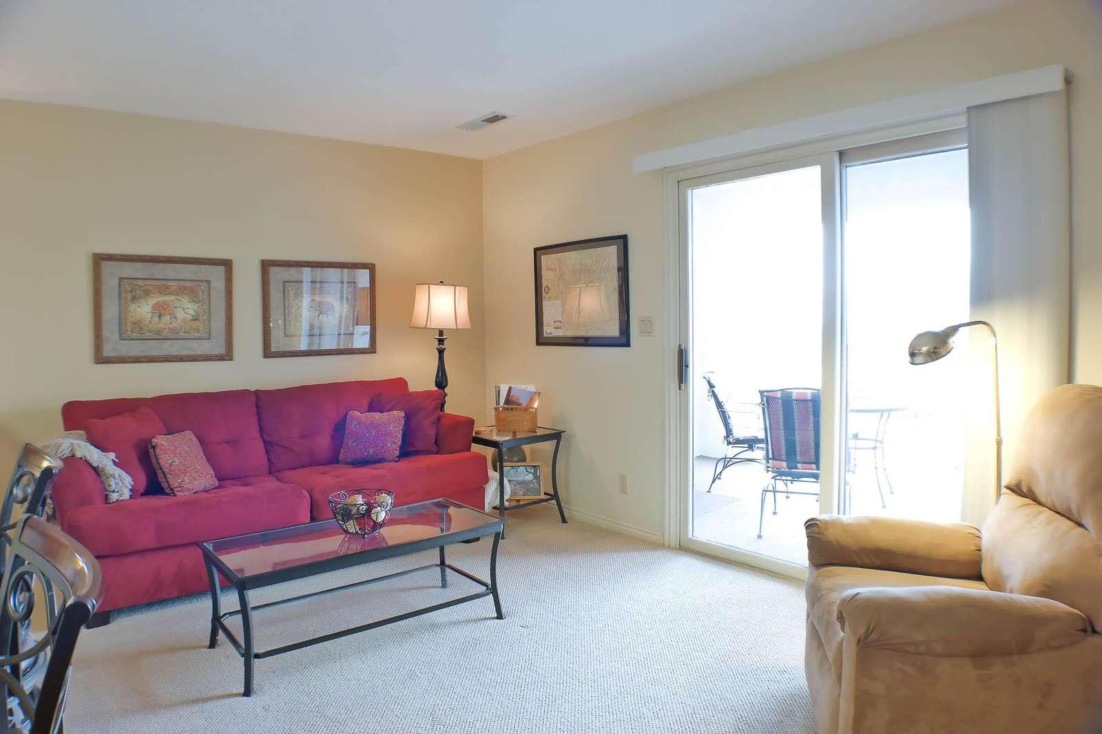 Living Room w/ Sofa Sleeper