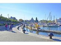 Walk from your unit to the famous Inner Harbour thumb