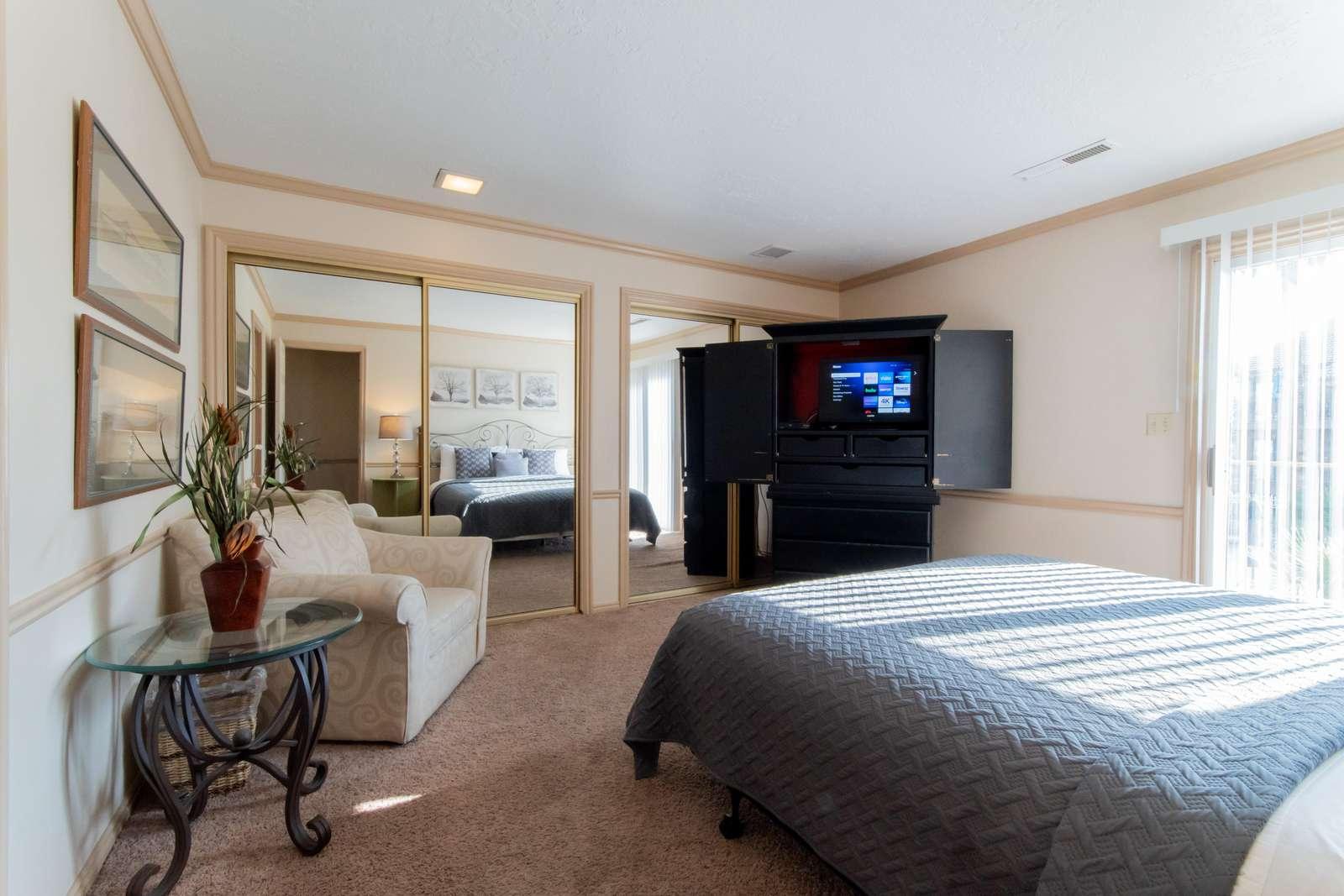 Master Bedroom -King Bed