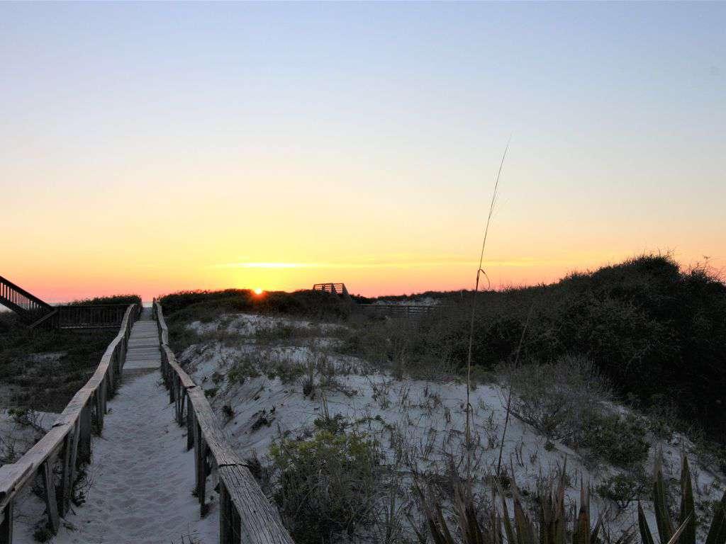 Private Beach Access Boardwalk