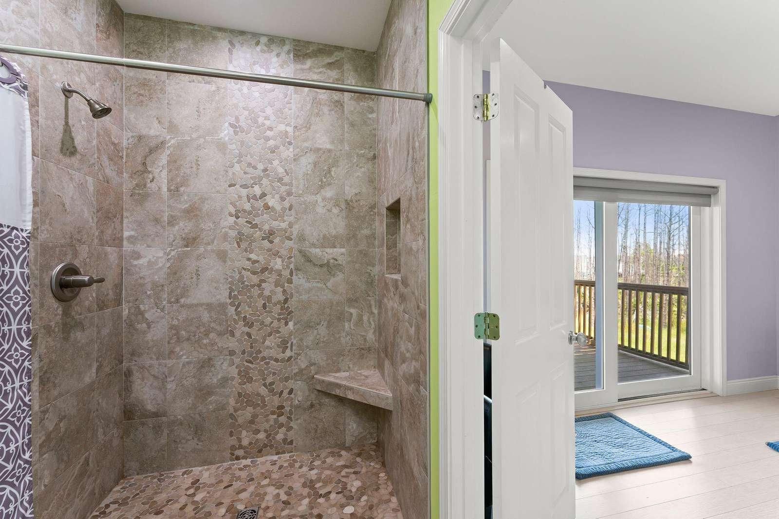 Walk In Shower Master Bath