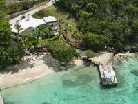 True Beachfront Villa with Private Dock thumb