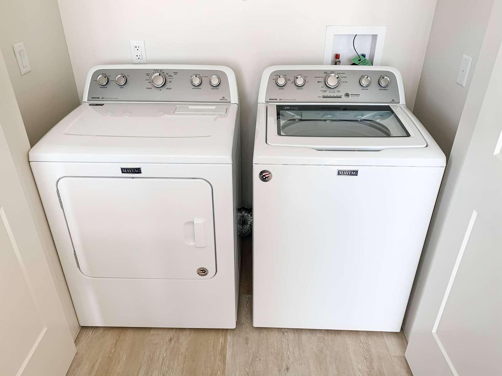 Laundry Facilities in condo