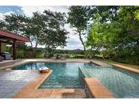 Private pool at the Villa thumb