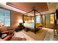 Master suite with king bed thumb