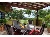 Private balcony with outdoor seating thumb