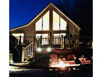 Cozy evenings by the Fire, Your Mountain Time starts here...... thumb